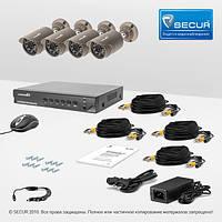 AHD Комплект видеонаблюдения для быстрой установки AHD Универсал