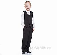 Жилет для мальчика Panda ПА-05439-14 черный 36 (Р-140, ОГ-72, ОТ-63)