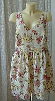Платье женское сарафан туника лето батал бренд Atmosphere р.54