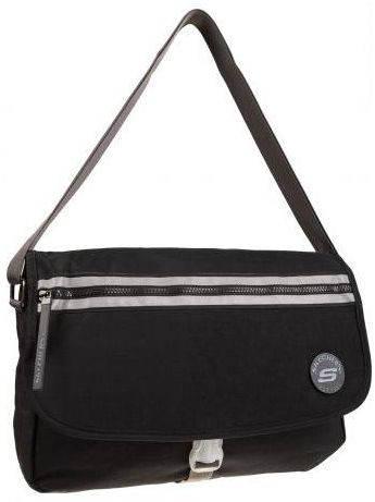Удобная городская сумка Skechers Aqua 75301;06 черный