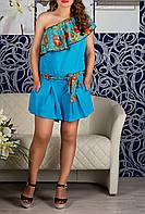 Красивый женский летний комбинезон, до 52 размера