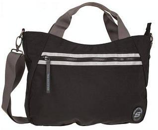 Вместительная мужская сумка Skechers Aqua 75304;06 черный