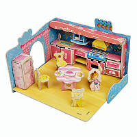 Набор для творчества 3D пазл ``Кухня маленькой хозяюшки``