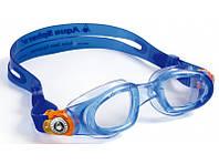 Детские плавательные очки Aqua Sphere Moby Kid, clear lens blue/orange
