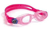Очки для плавания детские Aqua Sphere Moby Kid, clear lens pink/deep blue