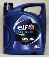 Моторное масло полусинтетика Elf(эльф) Evolution 700 STI 10W-40 5л