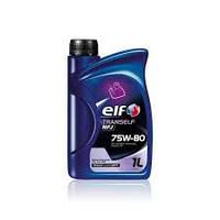 Трансмиссионное масло синтетика  ELF(эльф) Tranself NFJ 75w-80 1л