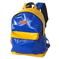 """Рюкзак """"классика Украина"""" DERBY с карманом для ноутбука 14* кожзам"""