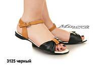 Кожаные сандали в расцветках