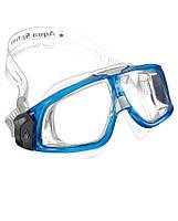 Широкие очки для плавания Aqua Sphere Seal 2.0, clear lens transparent/blue