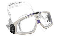 Очки для бассейна Aqua Sphere Seal 2.0 Lady, clear lens white/purple