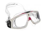 Хорошие очки для плавания Aqua Sphere Seal 2.0 Lady, clear lens white/pink