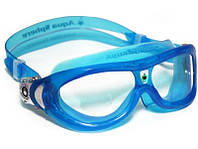 Детские очки для плавания Aqua Sphere Seal Kid, clear lens/trans aqua