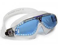 Тренировочные очки для плавания Aqua Sphere Seal XP, blue lens/trans gray