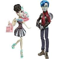 Набор кукол Монстер хай Гарротт дю Рок и Рошель Гойл из серии Скариж - город страха