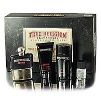 True Religion Drifter туалетная вода 100 ml+туалетная вода 7,5 ml+гель д/д 90 ml+дезодорант-стик 78 ml НАБОР
