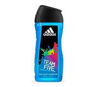 Adidas TEAM FIVE гель для душа & шампунь 400 ml