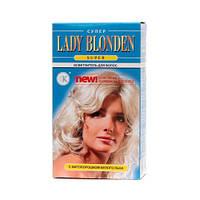 LADY BLONDEN super с фитопорошком белого льна Осветлитель для волос 35 г