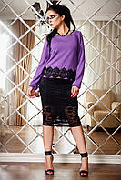 Нарядный свитер Стиль А2 Медини 50-52 размеры