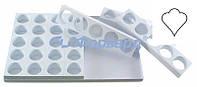 Форма для бисквита лилии 35 шт Martellato MONOP.C010 600х400 мм, d 65 мм, h 30 мм