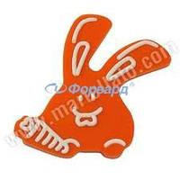 Форма для конфет кролик с морковкой Martellato 20-C001 49х45 мм