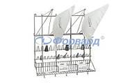 Подставка для кондитерских мешков и насадок Paderno 47113-03 500x420x500 мм