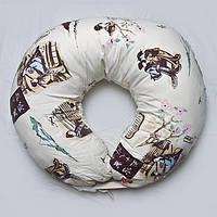 Наволочка к подушке для кормления двойни. Бязь. Япония