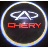 Лазерная проекция логотипа—Chery
