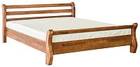"""Кровать деревянная """"Афина"""" дерево бук, цвет орех"""