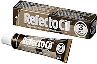 Рефектосил RefectoCil №3 Natural Brown - краска для бровей и ресниц (натуральный коричневая), 15мл рефектоцил
