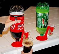 Удобный кран-дозатор для бутылок с газировкой или пива Fizz Saver