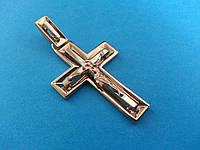 Золотой Большой Крест (красное и белое золото)