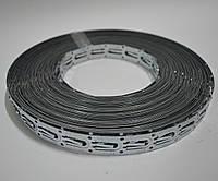Монтажная лента DEVIfast Metal для крепления кабеля, 25 м (шаг крепления 2,5 см)