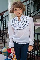 Нарядная детская блузка для девочки 229 Высокое качество