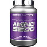 Scitec Nutrition Аминокислоты Scitec Nutrition Amino 5600, 1000 таб.