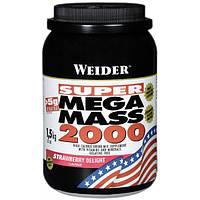 Weider Гейнер Weider Mega Mass 2000, 1.5 кг (клубника)