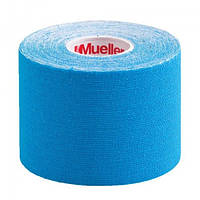 Mueller Кинезио тейп Mueller (27367) 5см х 5м (голубой)