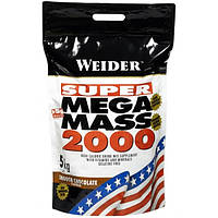 Weider Гейнер Weider Mega Mass 2000, 5 кг (шоколад)