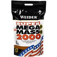 Weider Гейнер Weider Mega Mass 2000, 5 кг (клубника)