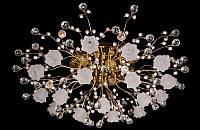 Люстра галогенная со светодиодной подсветкой , пультом 8352-16