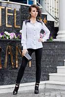 Классическая деловая блузка с элегантными деталями