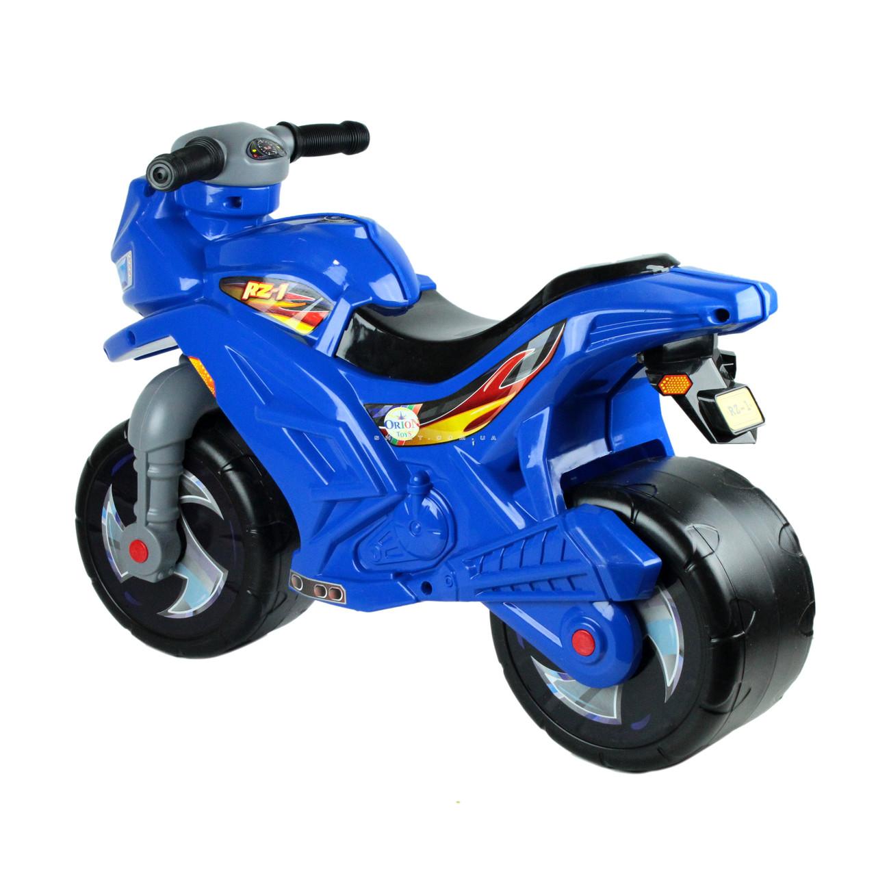 Каталка-мотоцикл двухколёсный RT Скутер розовый ОР502