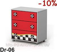 Комод Dr-06 мебель детская.