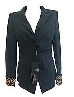 Женский пиджак леопард