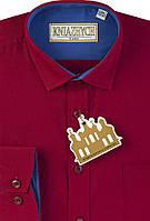 """Рубашка красная для мальчиков """"Княжич"""""""
