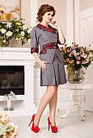Костюм женский юбка и жакет в 4х цветах К - 882Ю