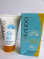 Крем-лосьон Shiseido, подарит Вашей коже молодость, надёжный барьер защитного действия SPF50, 60мл