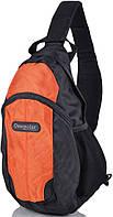 Рюкзак подростковый однолямочный 16 л. Onepolar W1292-orange оранжевый