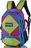 Рюкзак детский, яркой расцветки 20 л. Onepolar W1590-green разноцветный