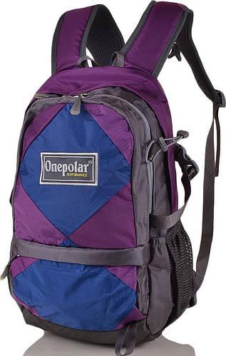 Яркий детский рюкзак 20 л. Onepolar W1590-violet